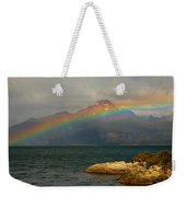 Rainbow At The End Of The World  Weekender Tote Bag
