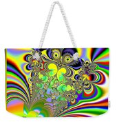 Rainbow Butterfly Bouquet Fractal 56 Weekender Tote Bag