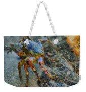 Rainbow Crab Weekender Tote Bag