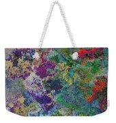 Rainbow Fish Watercolor Abstract Art Weekender Tote Bag