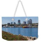 Rainbow Harbor Weekender Tote Bag