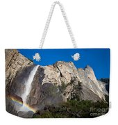 Rainbow On Bridalveil Fall Weekender Tote Bag