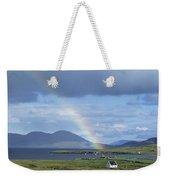 Rainbow Over Mountains, Ballinskelligs Weekender Tote Bag