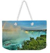Rainbow Over Niagara Weekender Tote Bag