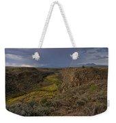 Rainbow Over The Rio Pueblo Weekender Tote Bag