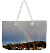 Rainbow Over Winnepesaukee Weekender Tote Bag