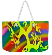 Rainbow Roots Weekender Tote Bag