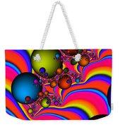 Rainbow Universe Weekender Tote Bag