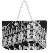 Rainbows And Architecture In Black And White Weekender Tote Bag