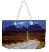 Rainclouds Over Monument Valley Weekender Tote Bag