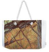 Rainforest Green Marble Weekender Tote Bag