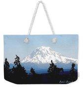 Rainier Reign Weekender Tote Bag