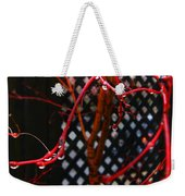 Raining Autumn Leaves Weekender Tote Bag by Xueling Zou