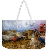 Rainy Day Abstract 3 Weekender Tote Bag