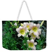 Rainy Day Day Lilies Weekender Tote Bag