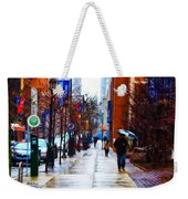 Rainy Day Feeling Weekender Tote Bag by Bill Cannon