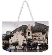 Rainy Day In Taormina Weekender Tote Bag