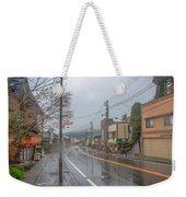 Rainy Day Nikko Weekender Tote Bag