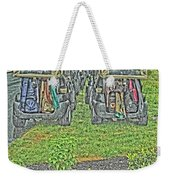 Rainy Day On The Links Weekender Tote Bag