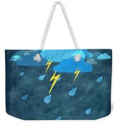 Rainy Day With Storm And Thunder Weekender Tote Bag
