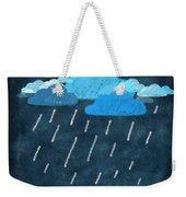 Rainy Day With Umbrella Weekender Tote Bag by Setsiri Silapasuwanchai