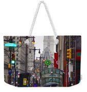 Rainy Days And Sundays Weekender Tote Bag