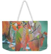 Rainy Days In Autumn Weekender Tote Bag