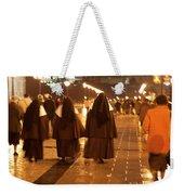 Rainy Night Nuns Weekender Tote Bag