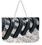 Rake In Sand Weekender Tote Bag