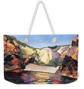 Ramsey Island - Land And Sea No 2 Weekender Tote Bag