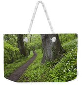 Ramsons By Path In Woods, County Louth Weekender Tote Bag