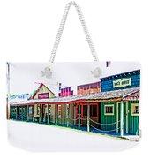 Ranch Buildings - Hdr White Weekender Tote Bag
