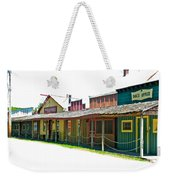 Ranch Buildings - White Weekender Tote Bag