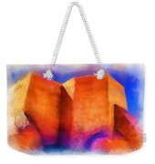 Ranchos Nave - Watercolor Weekender Tote Bag