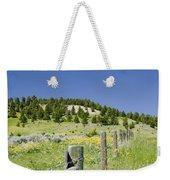Rangeland Wild Flowers Weekender Tote Bag