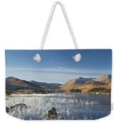 Rannoch Moor - Winter Weekender Tote Bag