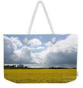 Rape Field Weekender Tote Bag