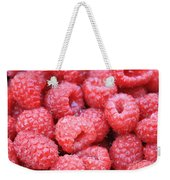Raspberries Weekender Tote Bag
