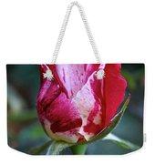 Raspberry Swirl Rose Weekender Tote Bag