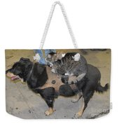 Rat Cat Dog Weekender Tote Bag