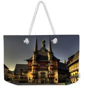 Rathaus At Wernigerode Weekender Tote Bag