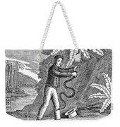 Rattlesnake Weekender Tote Bag