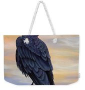Raven Beauty Weekender Tote Bag