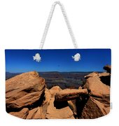 Raven Flying Near Ooh Aah Point Weekender Tote Bag