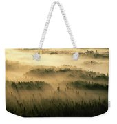 Rays Of Early Morning Sunlight Beam Weekender Tote Bag