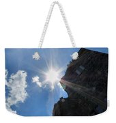 Rays On The Castle Weekender Tote Bag