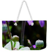 Reaching For The Future Weekender Tote Bag by Rory Sagner