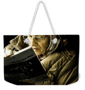 Reading Is Lifetime Passion Weekender Tote Bag