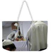 Reading The Torah Weekender Tote Bag