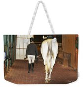 Ready For The Dressage Lesson Weekender Tote Bag